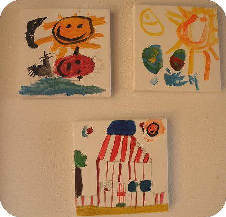 El arte de los ni os - Cuadros abstractos para ninos ...