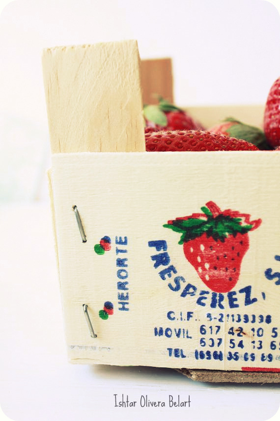 strawberry bucket