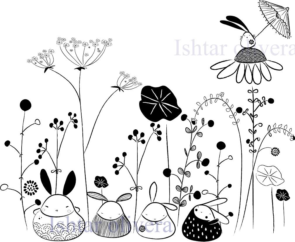 Nature bunnies
