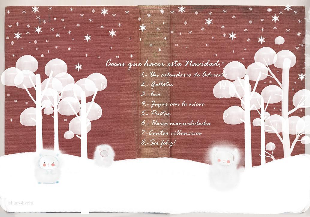 Christmas list lista de navidad for Cosas decorativas para navidad