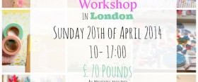 Stamp Carving Workshop in London ♥