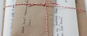 Happy Mail project:  letter from Anna ♥