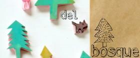 Woodland stamps ♥ Sellos del bosque